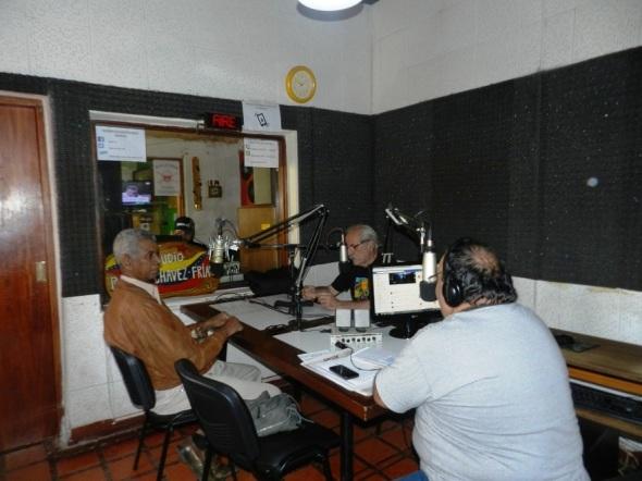 Cuba revolucionaria en programa variado La Feria de la emisora Radio Sur 90.1 FM en la ciudad argentina de Córdoba