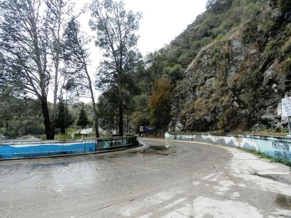 El dique está entre los poblados Ciudad América y Villa General Belgrano