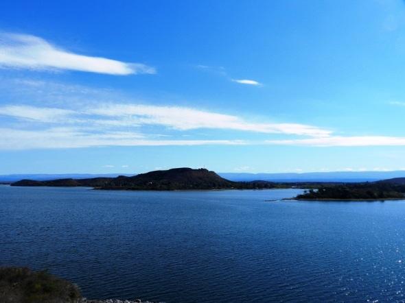 El Embalse de Rio Tercero distingue por el hermoso paisaje