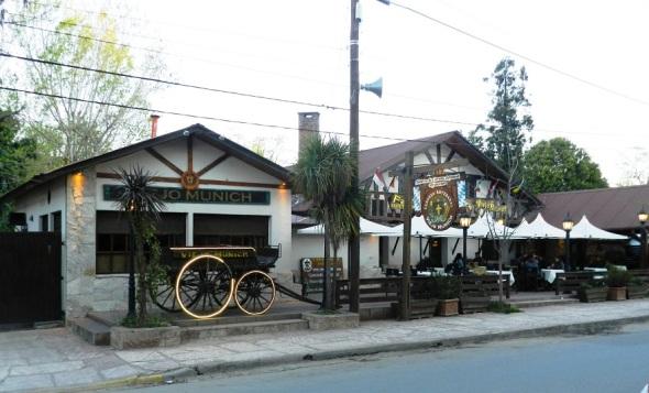 En Villa General Belgrano con restaurantes en los que se oferta una gastronomía variada con fuerte influencia de centro Europa