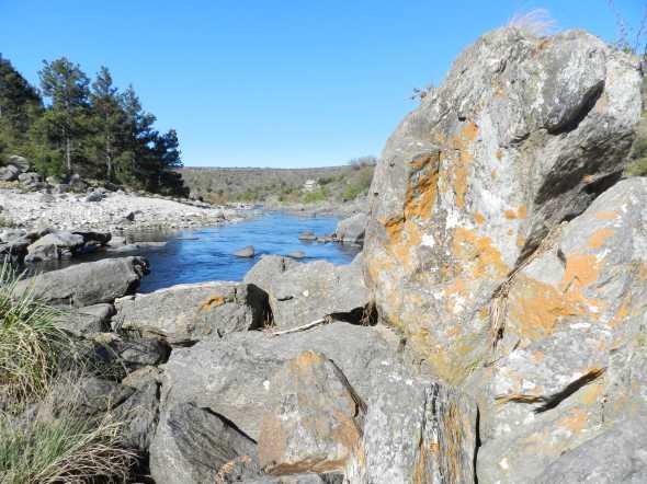 Golpe de Agua, sobre el río Los Espinillos