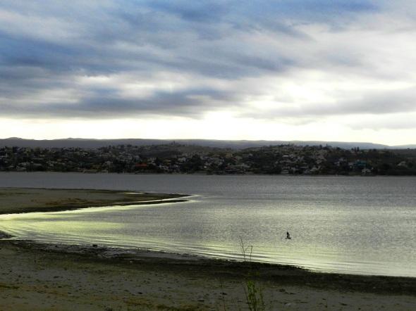 Lago San Roque.
