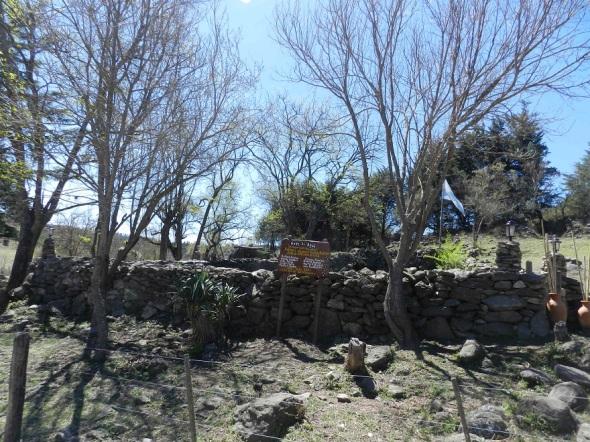 Otra vista del corral de piedras en Golpe de Agua