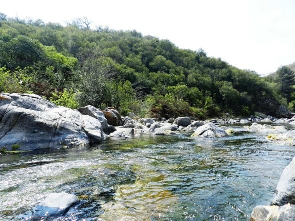 Anisacate es muy preferido por los habitantes de la región por sus aguas límpidas