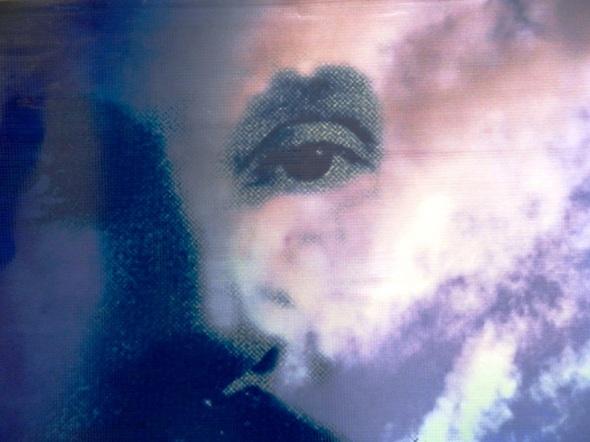 Autor Nazario Salazar. Titulo De la serie Rostro de Sol. Dimensión 70 x 29 cm. Técnica Arte digital. Año 2016.