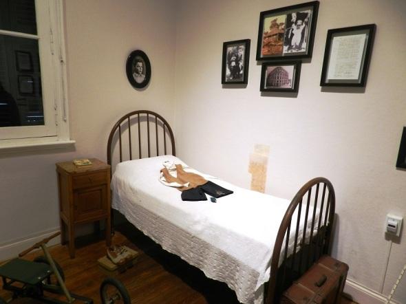 Dormitorio de Ernestico Guevara en la residencia Villa Nydia