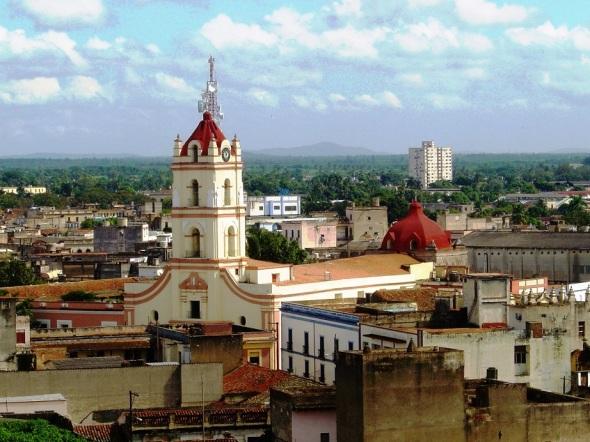 El centro histórico actual de Camagüey, que cubre 54 hectáreas, constituye un ejemplo excepcional de instalación urbana tradicional