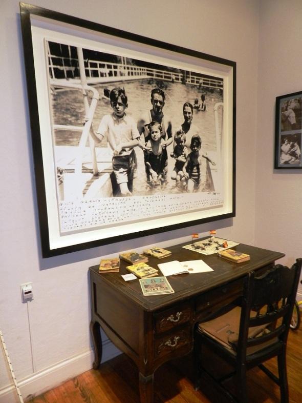 Escritorio en el Museo al Che em Alta Gracia