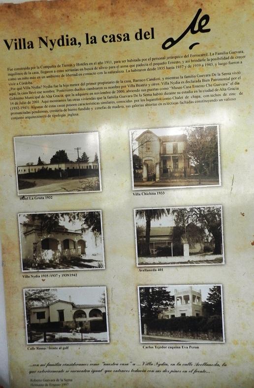 Imagenes de Villa Nydia, construida en 1911 y habitada por la familia Guevara de 1935 y hasta 1943