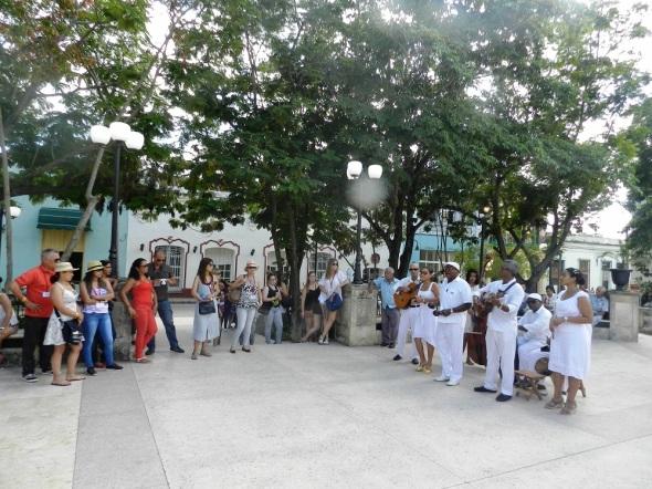 La musica cubana presente
