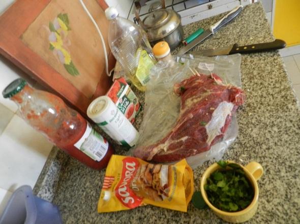 Lista la carne para preparar