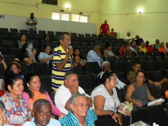 Los delegados de las diferentes circunscripciones del municipio