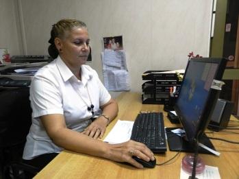 Milaida Castellanos Pérez, especialista de calidad