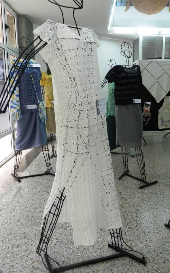 Pieza textil Sin titulo, de Marleme Zayas Mesa