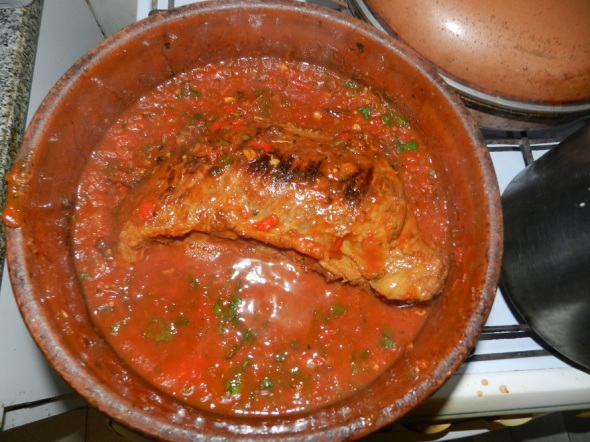 Rellena con salsa