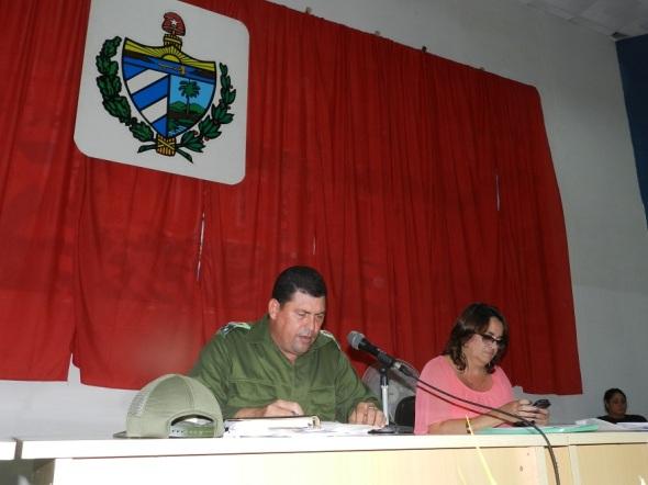 Sesión ordinaria de la Asamblea Municipal del Poder Popular en Camagüey