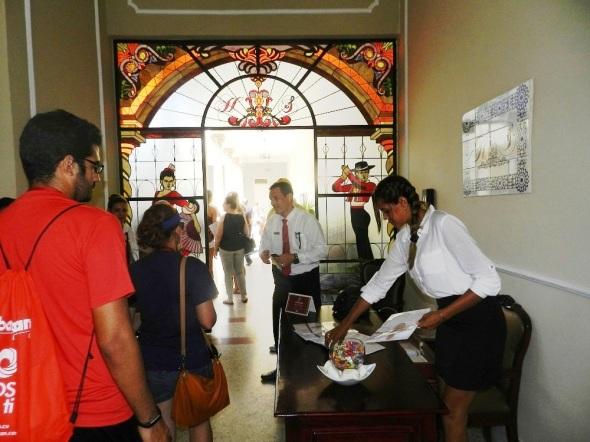 Un grupo de 70 touroperadores y periodistas de 15 países de América y Europa visitó hoy instalaciones de la cadena hotelera Cubancán