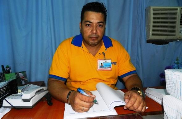 Alexander Gómez Rosabal, secretario de la Comisión Municipal Electoral