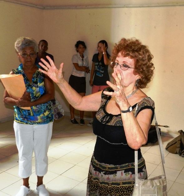 Alicia Perea era considerada como una excepcional promotora de la música en la Revolución Cubana
