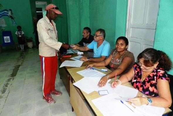 En estas elecciones se vota por Cuba