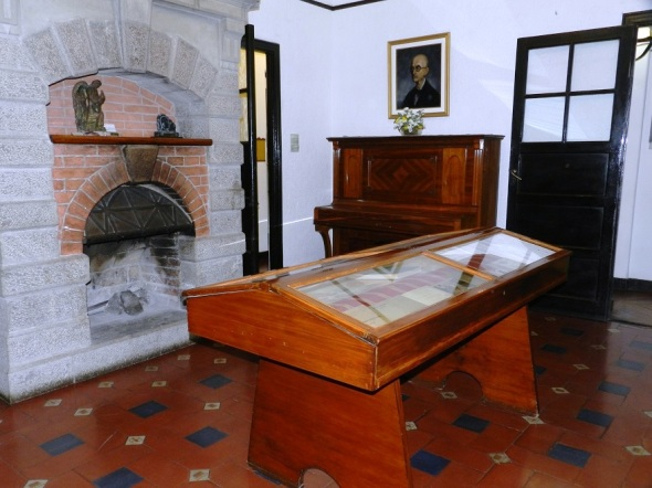 En Museo Manuel de falla,en Alta Gracia, Córdoba. Foto Lázaro D. Najarro
