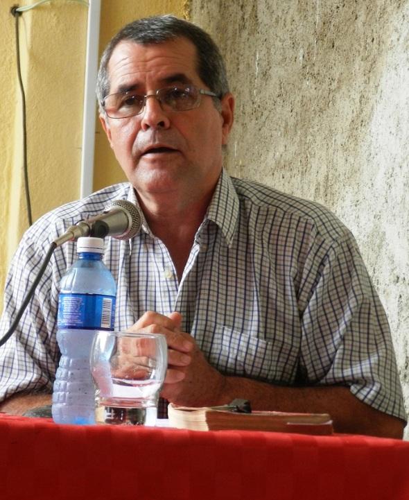 Historiador Ricardo Muñoz Gutiérrez