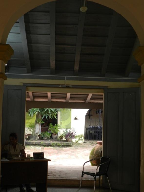 Interior casa Carlos J. Finlay