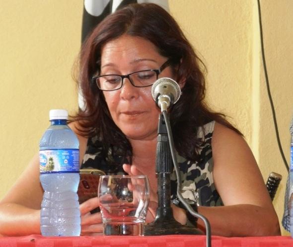 La especialista Verónica Fernández Díaz