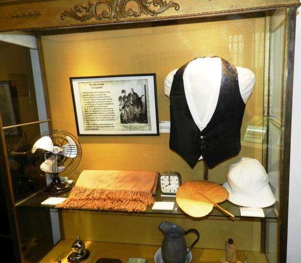 Objetos de Manuel de Falla en el Museo en Alta Gracia, Córdoba. Foto Lázaro D. Najarro
