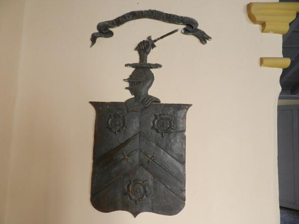 Replica del Escudo de la familia en la Casa Museo Carlos J. Finlay