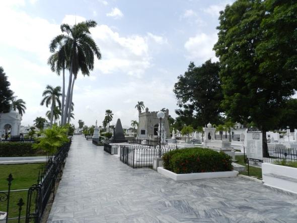 Santa Ifigenia, en la ciudad de Santiago de Cuba