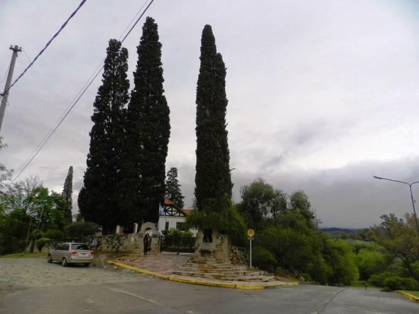 Un bello paisaje en el Museo Manuel de Falla, en Alta Gracia, Córdoba. Foto Lázaro D. Najarro