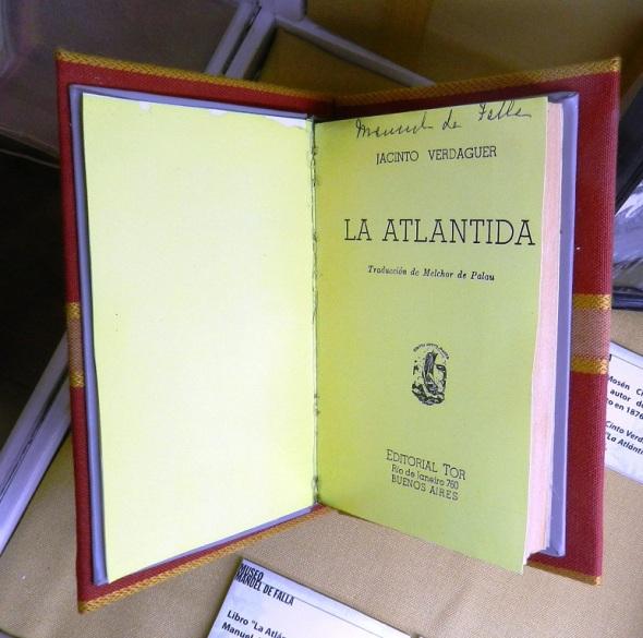 Una de las obras de Falla, en Alta Gracia, Córdoba. Foto Lázaro D. Najarro