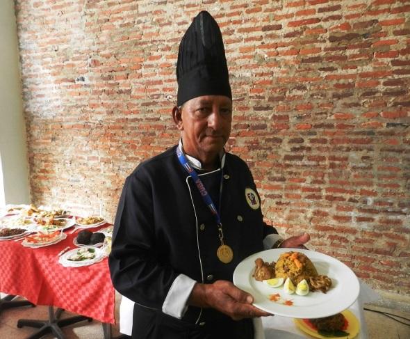 Carlos León chef ejecutivo nitza. Foto Lázaro D. Najarro Pujol
