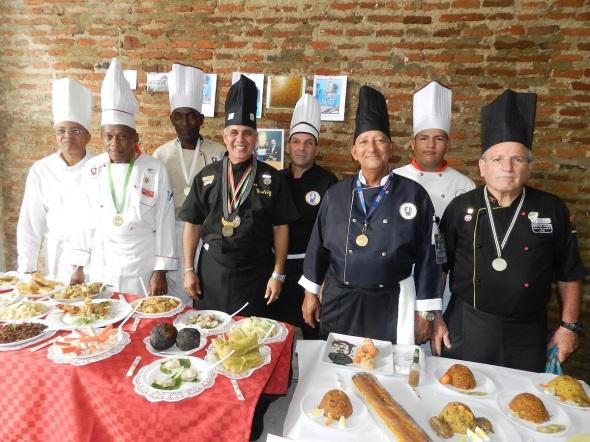 Chef profesionales que concurrieron Foto Lázaro D. Najarro Pujol