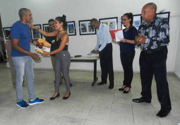 Consejo Provincial de las Artes Plástica reconoció a Reynaldo Pérez Álvarez