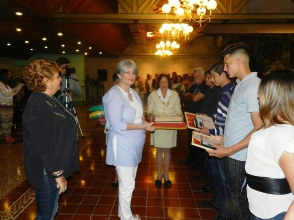 Dirección de cultura destaca labor de la OHCC .Foto Lázaro Najarro.