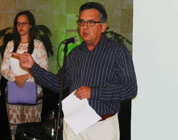 Director de ka Oficina del Historiador de la Ciudad de Camagüey.Foto Lázaro D. Najarro