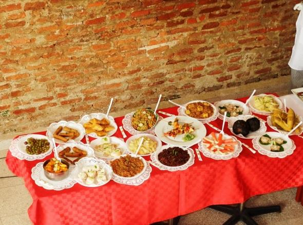 Gustos del Che platos elaborados por Frank Rodríguez. Foto Lázaro D. Najarro Pujol