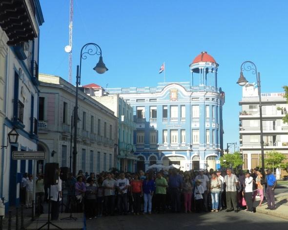 Homenaje de los camagüeyanos a El Mayor, uno de los símbolos imperecederos de la patria