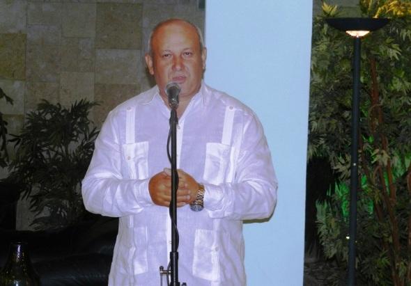 Jorge Luis Tapia Fonseca, miembro del Comité Central del Partido Comunista de Cuba y primer secretario de esa organización en la provincia de Camagüey