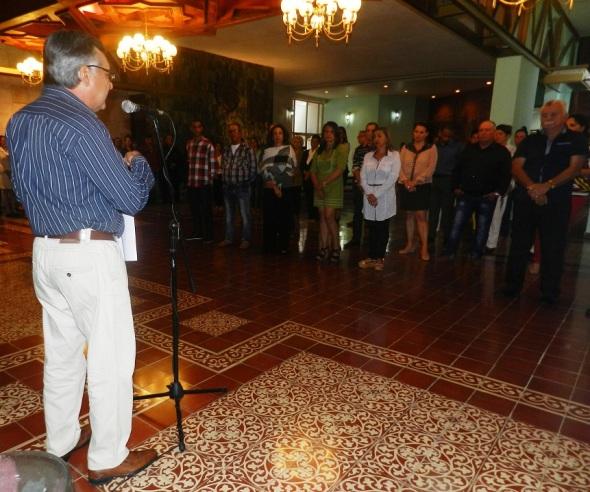 José Rodríguez Barrera, director de la oficina del Historiador de la Ciudad de Camagüey .Foto Lázaro D. Najarro