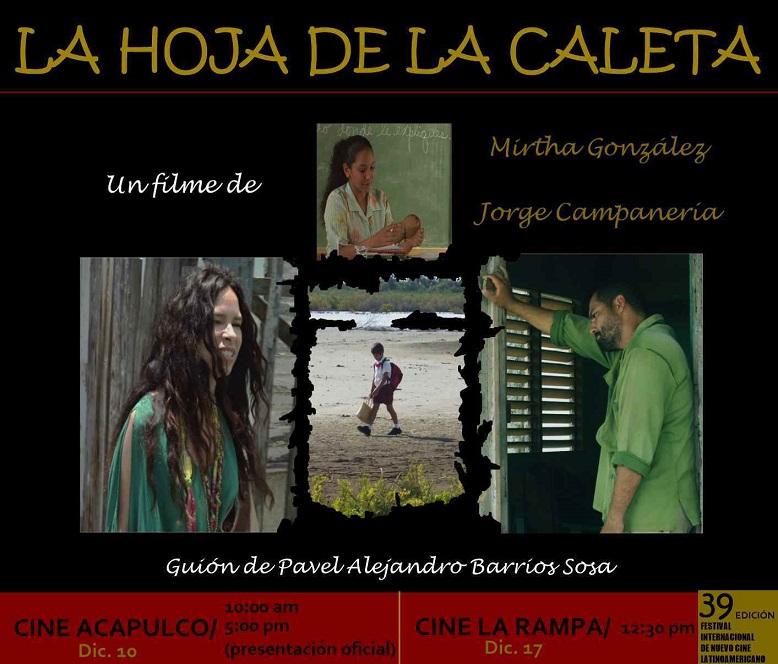 Emotivo debut de filme camagüeyano en Festival del Nuevo Cine Latinoamericano