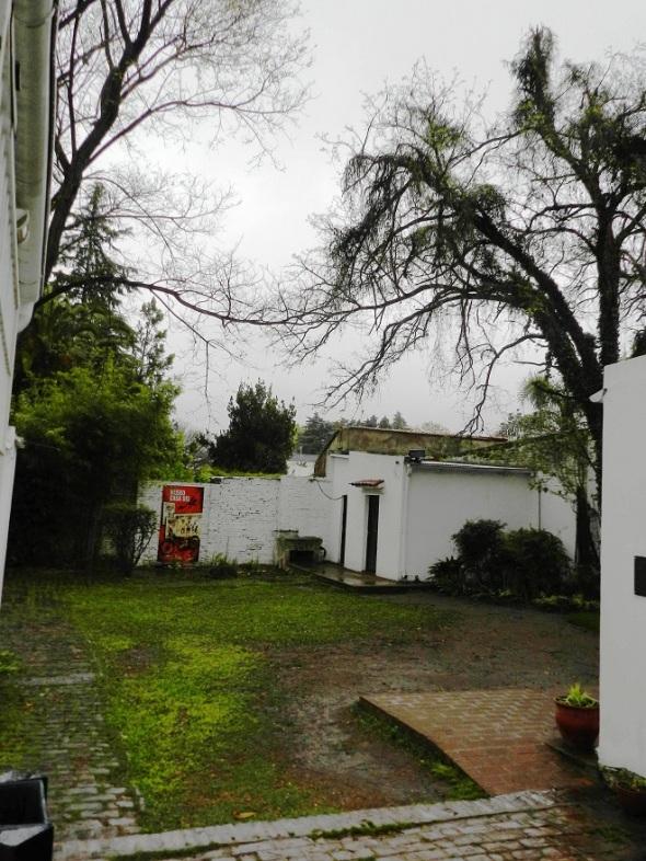 Patio de la casa del Che en Alta Gracia