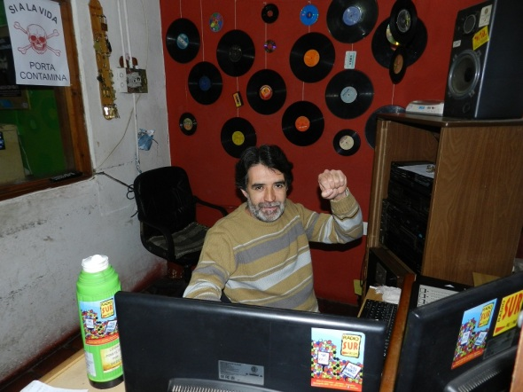 Radio Sur 90.1 FM 29 años de estar al servicio de los oyentes.Foto Lázaro Najarro Pujol
