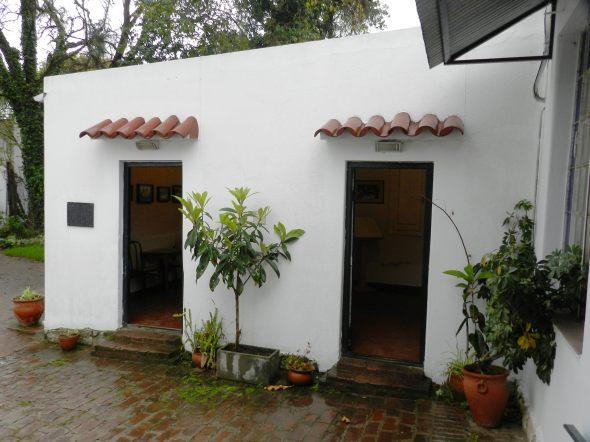 Sala dedicada a la visita de Fidel castro y Hugo Chavez al Museo
