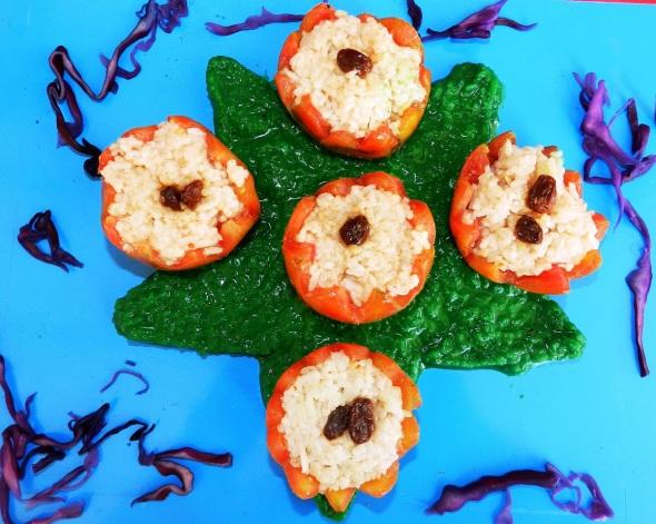 Tomates chinos preparados por el chef Carlos Villarreal, Chef. Foto Lázaro D. Najarro Pujol