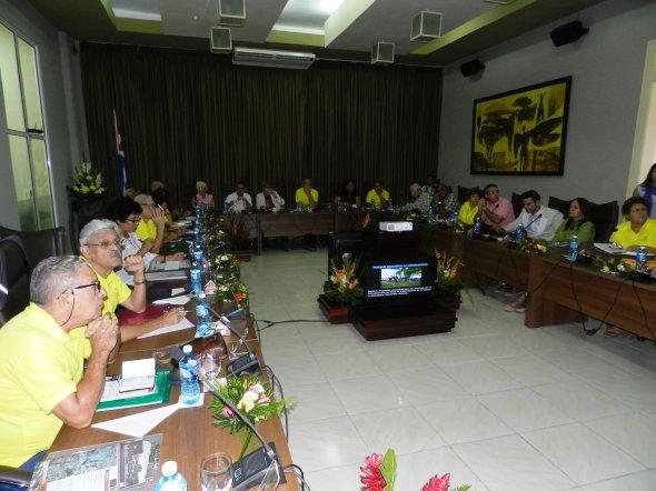 Consejo Nacional de Monumentos Camagüey, 2018