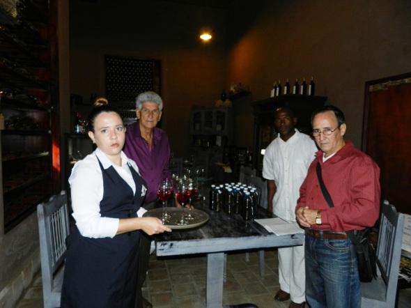 Festival Provincial de Vinicultores Artesanos  se desarrolló  en el establecimiento turístico Café Ciudad