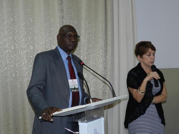 Jefe de Misión Adjunto de la Embajada de Gambia en Cuba, Señor Charles Mustafha Camara